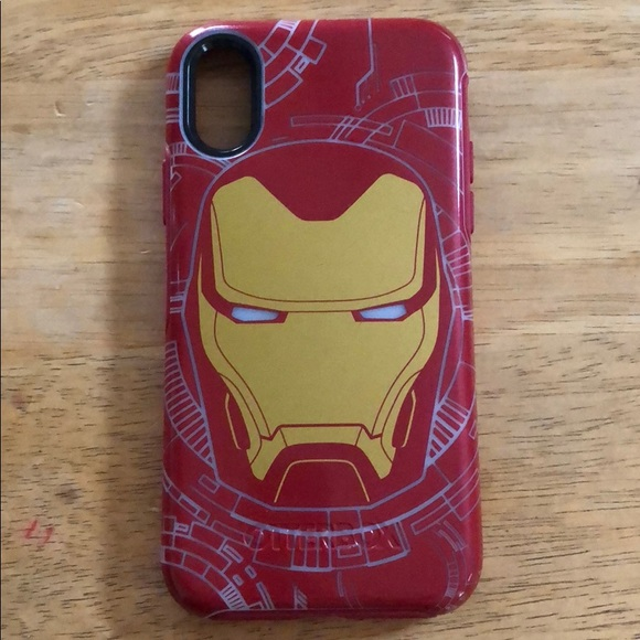nice shoes ac33b 5f6c4 iPhone X/Xs Iron Man Otterbox case